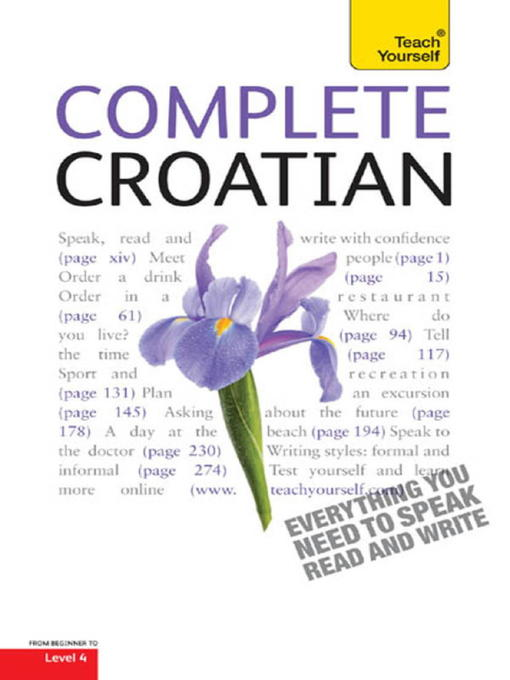 Complete Croatian (eBook)